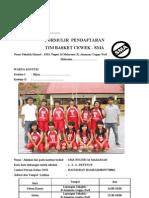 Formulir ran Basket Cewek SMA Honda DBL 2011