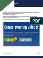 Animoto - Video Slideshow