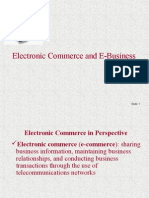 9 Electronic Commerce and E Business Topic