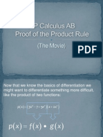 Cal Cab Proof of Product Rule
