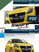 Presentación Suzuki Swift Sport 1.6
