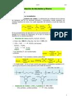 Oxidación de Alcoholes y Éteres