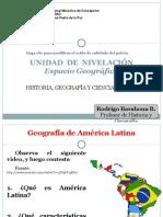U.Nivelación. Espacio Geográfico - 6°