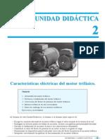 Caracteristicas elect. del motor trifásico