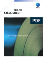 Jfe Cold Rolled Steel Sheet