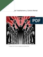 El Origen Del Totalitarismo y Control Mental