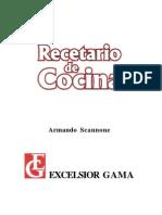 Recetario Scannone