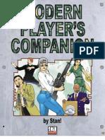 d20 Modern - Modern Player's Companion