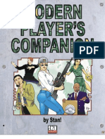 d20 Modern - Modern Player's Companion