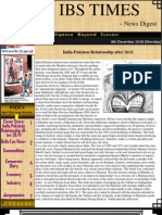 The IBS Times 39 Edition - News Digest