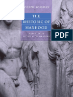 Roisman Joseph - The Rhetoric of Manhood. Masculinity in the Attic Orators