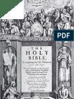 1611 KJV Genealogy Pages