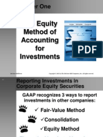 Chap 1 the equity method of accounting for investment
