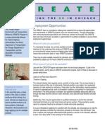 CREATE Employment Fact Sheet