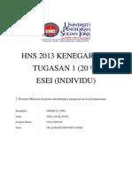 Tugasan 1-HNS 2013 (Kenegaraan)
