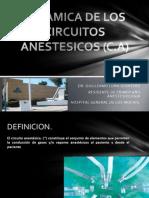 Dinamica de Los Circuitos Anestesicos - Dr Luna