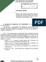 PORTARIA 20 DISPOE SOBRE PADRONIZAÇÃO DE PLACAS DE ANUNCIOS DE VENDAS  E LOCAÇÃO DE IMOVEIS