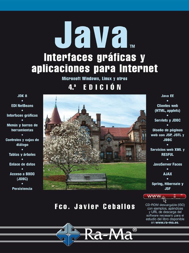 Ceballos: Java 2 - Interfaces Gráficas y Aplicaciones para Internet 4Ed