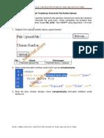 Mencegah Terjadinya Overwrite File Ketika Upload