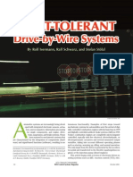 FBW Fault Tolerant Drive by Wire Systems