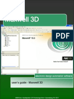 Maxwell3D User Manual