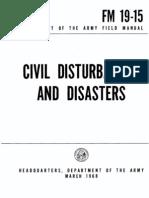FM 19 15 Civil Disturbances and Disasters
