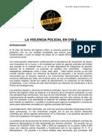 La Violencia Policial en Chile 2008