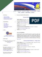 Bureau of Internal Revenue RDO Listing