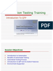 QTP - Automation Testing Training
