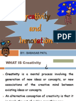 Crevativty & Innovation Ppt Bec Bagalkot Mba