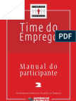 Time Do Emprego - Manual Do Participante