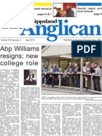 The Gippsland Anglican April 2012