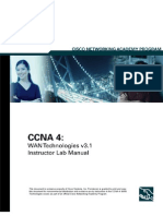 Cisco CCNA 4 WAN Technologies v3.1 Instructor Lab Manual