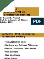 WEb vs Client Server