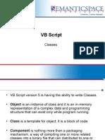 VB Script- Classes