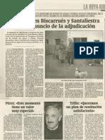 20001202 HHU Adjudica Biscarrués SantaLiestra
