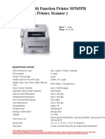 Multi Function Printer