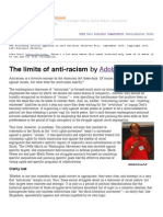 Reed, Adolph - Limits of Anti Racism