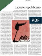 Pilar Rahola. Marcando Paquete Republic a No