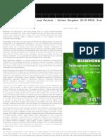 Social Business Strategic Outlook 2012-2020 United Kingdom, 2012