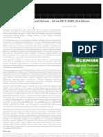 Social Business Strategic Outlook 2012-2020 Africa, 2012