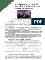 Tratatul de La Trianon - Despre Arhive