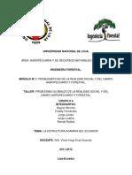 La Estructura Agraria Del Ecuador
