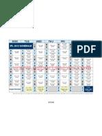 IPL 5 Schedule 20122