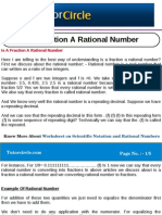 Is a Fraction a Rational Number