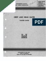EM-127-2 Crest Head Gates Tainter 1950