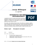 4M Beograd Program 26032012