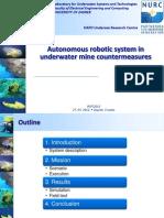 7 - Nikola Mišković - Autonomous underwater system in mine countermeasures