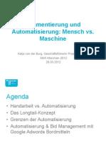 SMX - Segmentierung Und Automatisierung