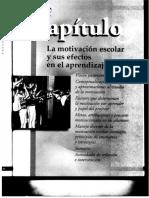 La motivación escolar y sus efectos en el aprendizaje. Frida Díaz Barriga